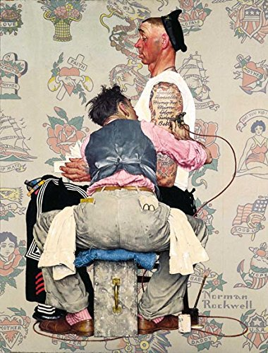 Tattoo Artist 14 x 11 Photo Print