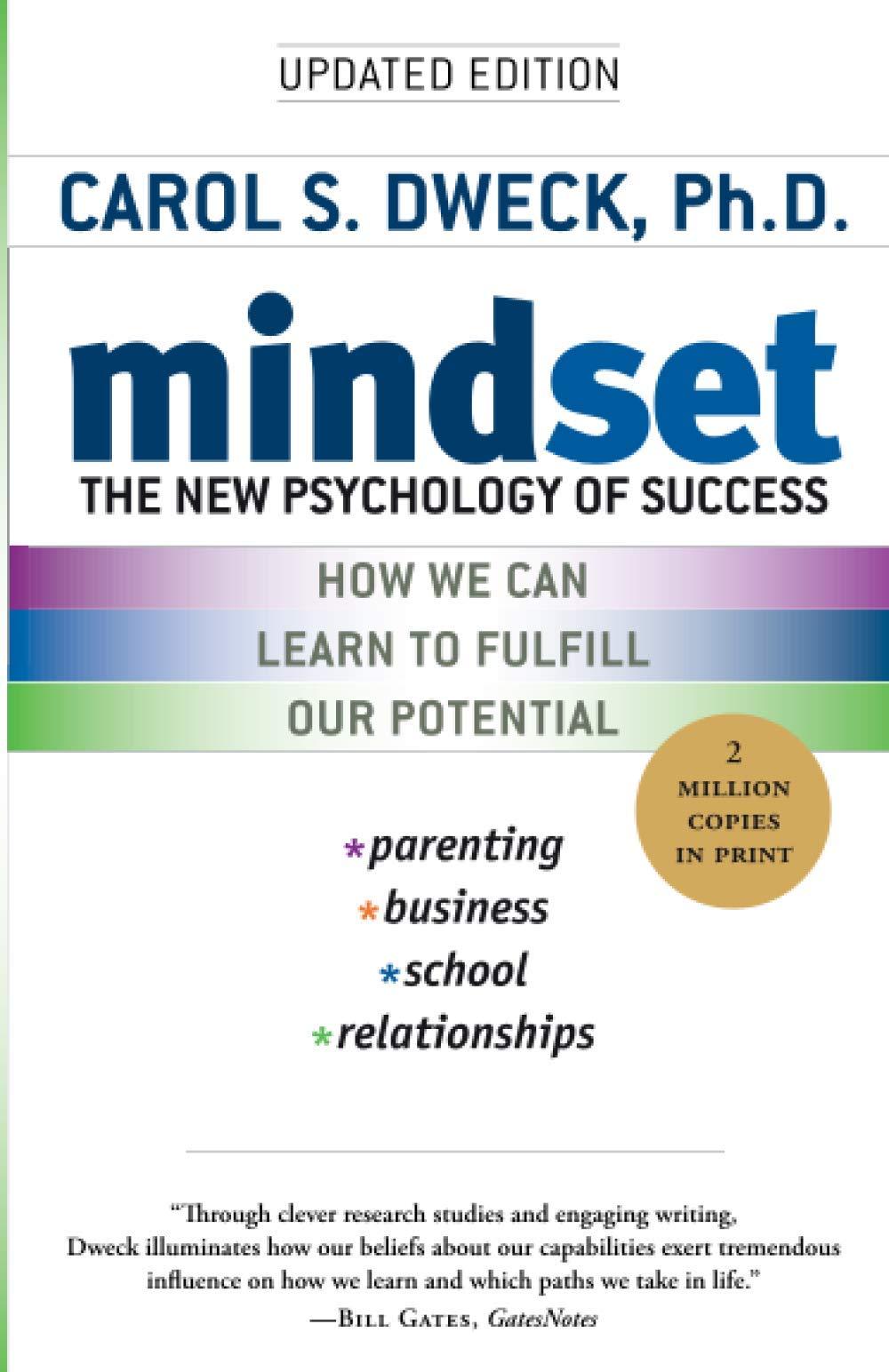 Mindset: The New Psychology of Success: Dweck, Carol S.: 9780345472328:  Amazon.com: Books