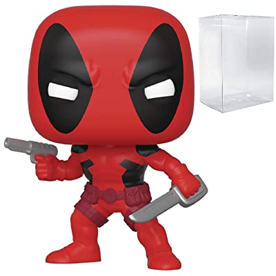 Funko Marvel: 80th First Appearance - Deadpool Vinyl Figure (Includes Compatible Box Protector Case): Toys & Games