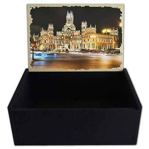 Capricci Italiani - Caja Porta Objetos de Madera Madrid ...