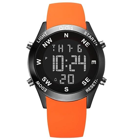 ... m Cronómetro cronógrafo Calendario Despertador Luminoso Relojes digitales Multifunción Para niños de relojes Adolescentes Junior-B: Amazon.es: Relojes
