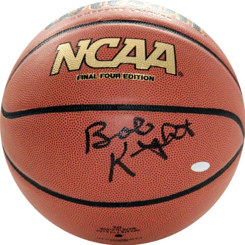 NCAA Indiana Hoosiers Bob Knight Autographed Basketball by Steiner Sports