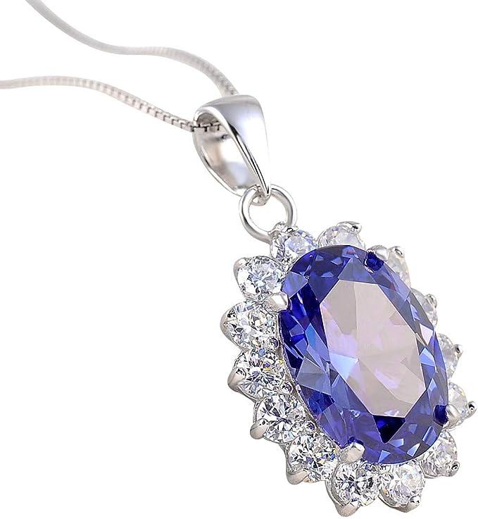 BLUE TOPAZ Silver Pendant925 Silver PendantHandmade PendantDecember BirthstoneNATURAL Blue Color PendantGift For HerGift For Lover.