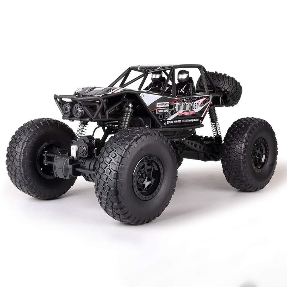 nouveau noir 3 batteries Tagke Garçons et enfants jouets 4WD véhicule hors route haute vitesse puissance puissante imperméable à l'eau peut jouer 30 minutes voiture d'escalade 45 ° escalade voiture télécomhommed&ea
