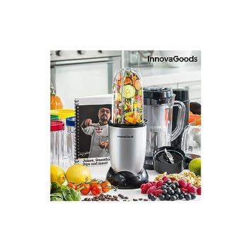 InnovaGoods IG114765 Licuadora batidora de Vaso, 250 W, Gris: Amazon.es: Hogar