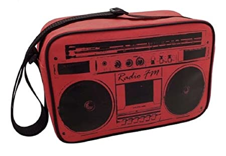 Retro Radio Design Insulated Lunch Coolbag / Cool Bag / Cooler ...