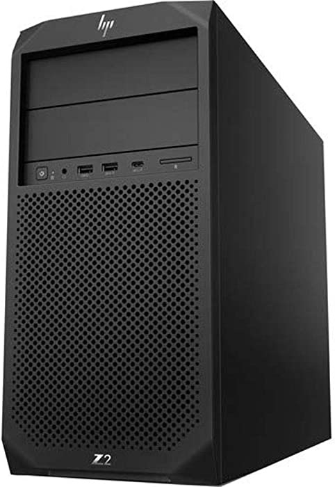 HP Z2 G4 Workstation - 1 x Xeon E-2244G - 16 GB RAM - Mini-Tower - Black - Windows 10 Pro - Serial ATA/600 Controller - 0, 1 Raid Levels - Intel Optane Memory Ready - Gigabit Ethernet