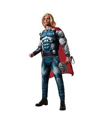 Amazon.com: Marvel Classic superhéroe Thor Mens Halloween ...