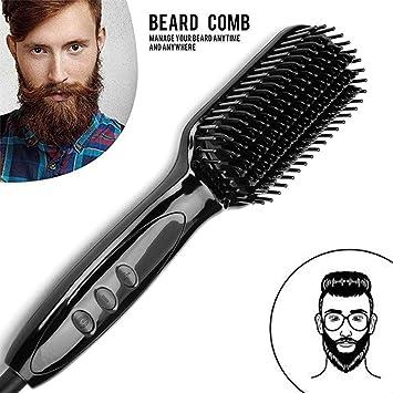 Huquan Comb Schnelle Haare Männer Bart Haarglätter Bart