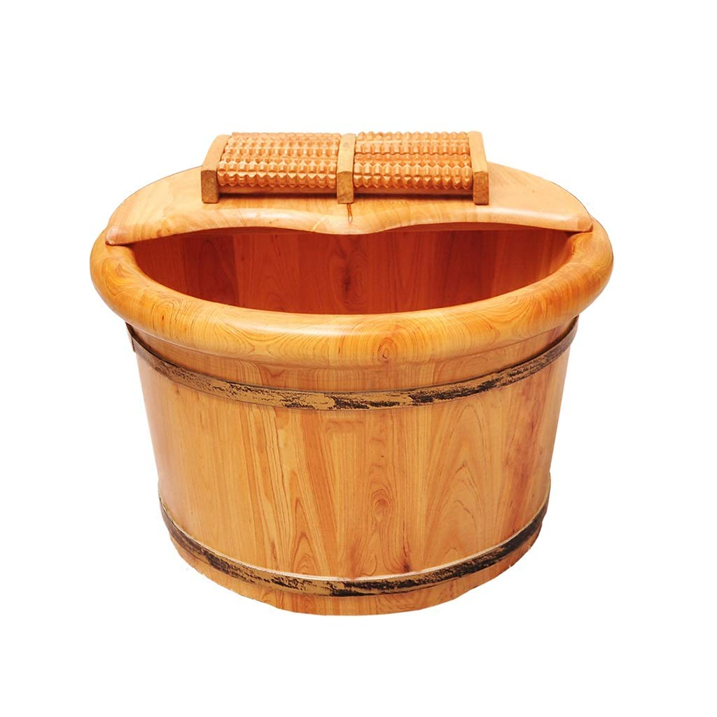 【オープニング大セール】 C-K-P 足浴槽バレル老人足浴槽高さ26cm家庭用フットバス木製バレル足マッサージで疲れを癒すことができます C-K-P B07PQW11D4 B07PQW11D4, TSTAR:4dd69de0 --- turtleskin-eu.access.secure-ssl-servers.info