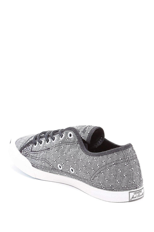 473eaa1e11da Converse Unisex Jack Purcell CP Ox Black White 9  Amazon.co.uk  Shoes   Bags