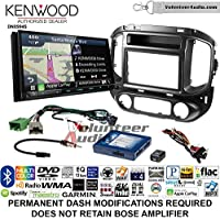 Volunteer Audio Kenwood Excelon DNX994S Double Din Radio Install Kit with GPS Navigation Apple CarPlay Android Auto Fits 2015-2017 Chevrolet Colorado, GMC Canyon