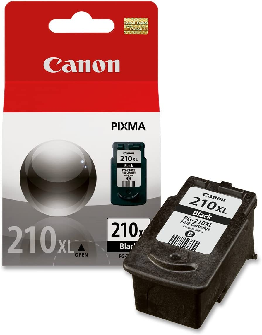 Canon PG210XL 210XL OEM Ink Cartridge Black Yields 401 Pages
