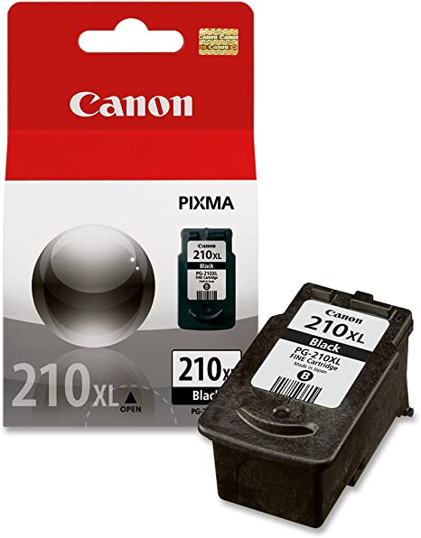 Canon PG-210XL 2973B001AA Pixma iP2700 iP2702 MP230 MP235 MP240 MP282 MP480 MP490 MP495 MP499 MX320 MX410 Ink Cartridge (Black) in Retail Packaging