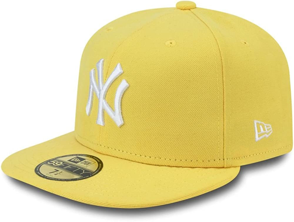 New Era MLB Basic NY Yankees 59Fifty Fitted Cappello con visiera