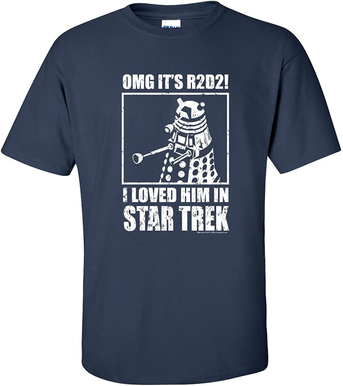 OffWorld Designs Unisex OMG Loved Him Sci-fi Classic T-Shirt