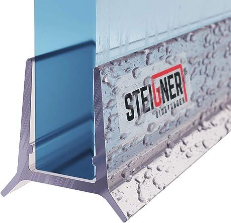 STEIGNER 30cm Joint d/étanch/éit/é de remplacement pour les vitres d/'une /épaisseur 3,5mm// 4mm// 5mm UK06