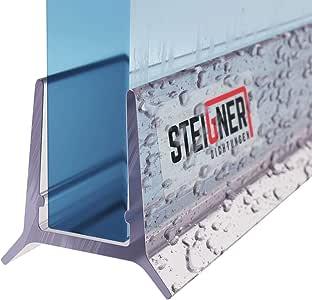 STEIGNER 80 cm Junta Repuesto Para el Vidrio 5/ 6mm Junta Vierteaguas de Ducha UK24-06 Protección Chorros Mamparas Ducha: Amazon.es: Bricolaje y herramientas
