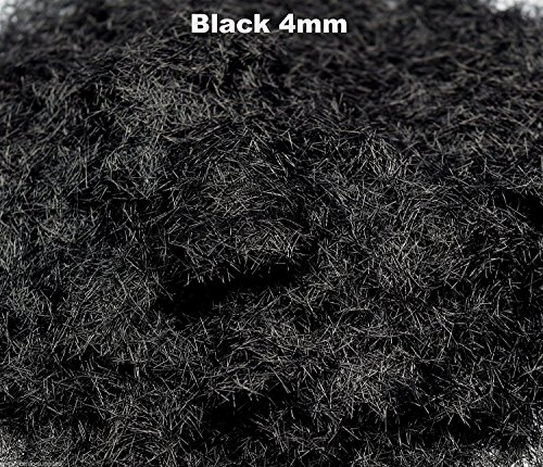 WWS Black 4mm Mix Model Basing Static Grass 10g G,O,HO/OO,TT,N.Z, used for sale  Delivered anywhere in Canada