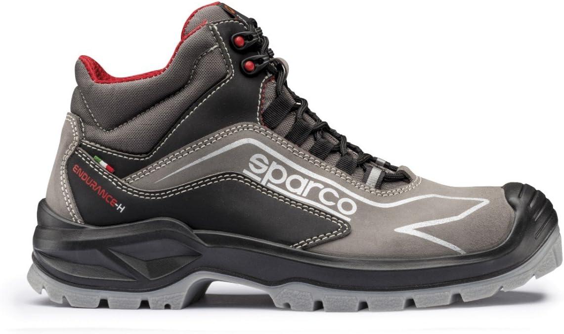 Sparco 0752145GRNR Zapatillas 45 EU Gris//negro