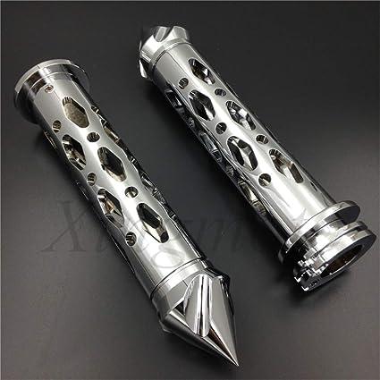 NBX- Barra de pinchos para motocicleta CNC de 22 mm para ...