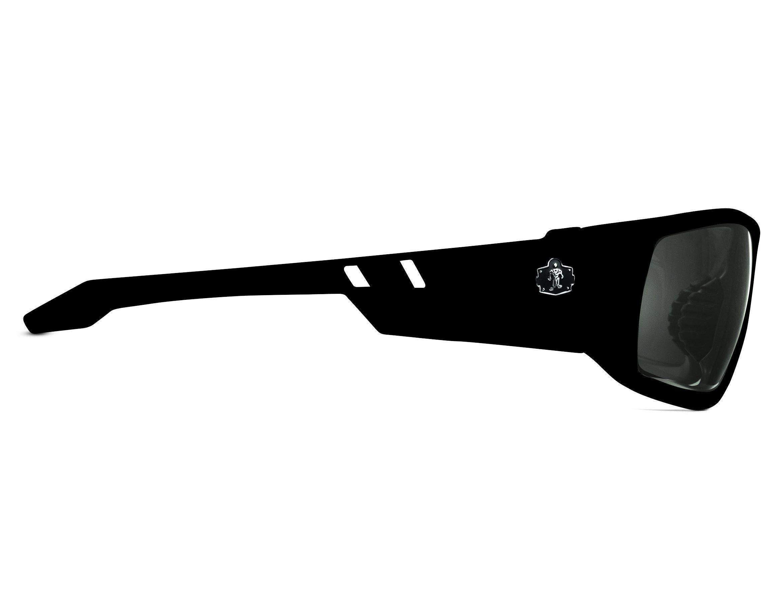 Ergodyne Skullerz Odin Polarized Safety Sunglasses - Black Frame, Smoke Lens by Ergodyne (Image #3)
