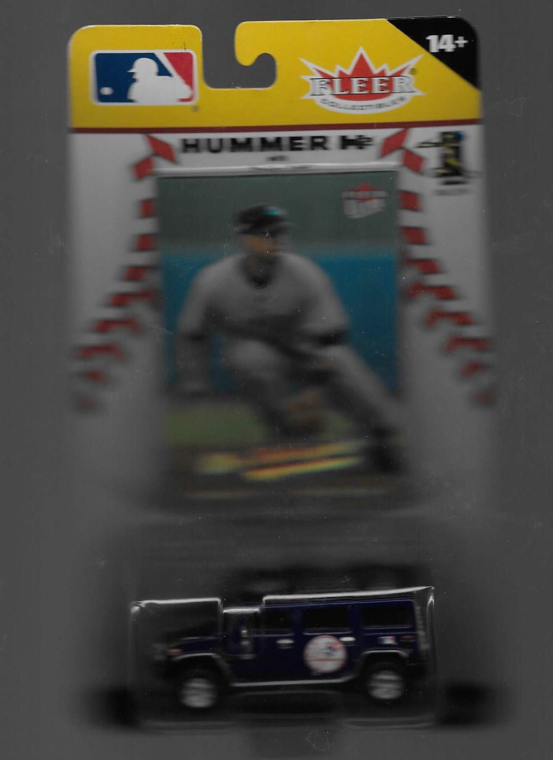 New York Yankees Alex Rodriguez 2005 MLB Diecast Hummer H2 Truck with Fleer Ultra Card