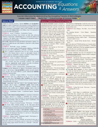 accounting cheat sheet - 1