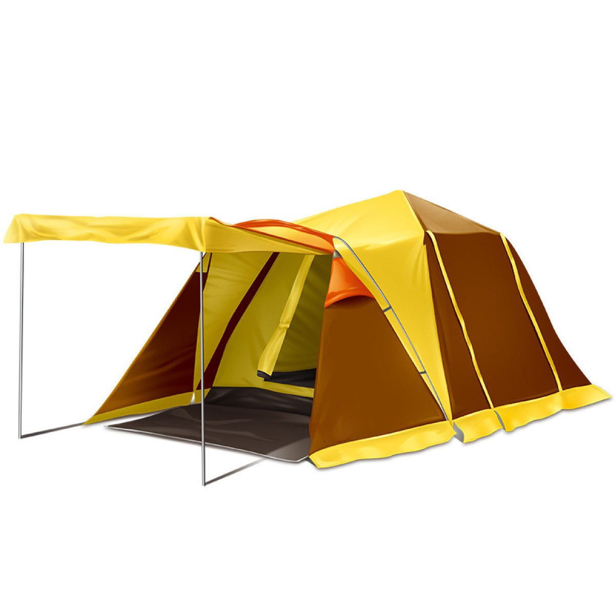 BFMEI 3-4 Koje Im Freien Zelt Camping Automatisches