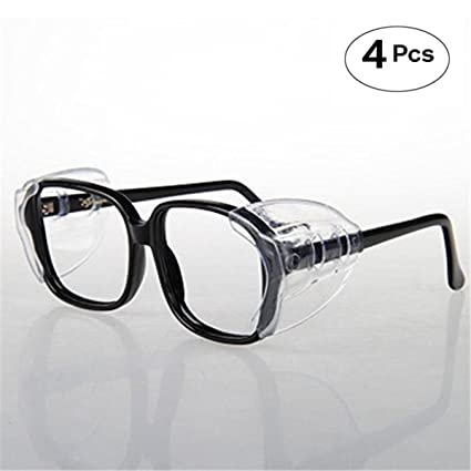 8cef9aedc6 Image Unavailable. Image not available for. Color  VIEEL Safety Glasses  Side Shields ...