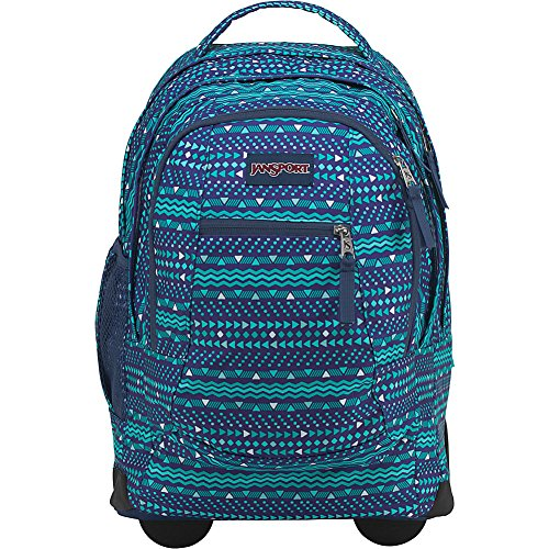 - JanSport Driver 8 Rolling Backpack- Exclusive Colors (Tribal Wave Tonal- eBags