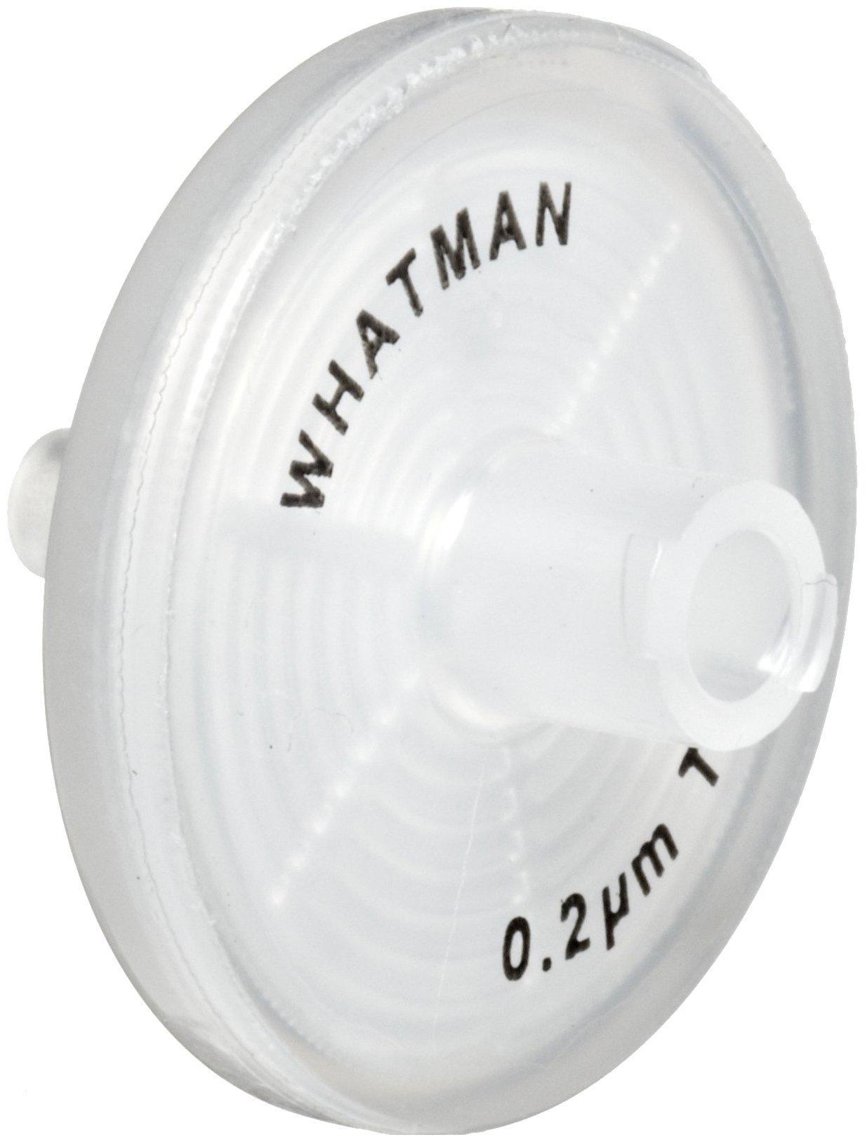 Whatman 6784-2502 PTFE Puradisc 25 Syringe Filter, 0.2 Micron