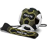 FOCCTS Football Kick Trainer Soccer Solo Training Aid Neoprene Waist Belt Kids Adults