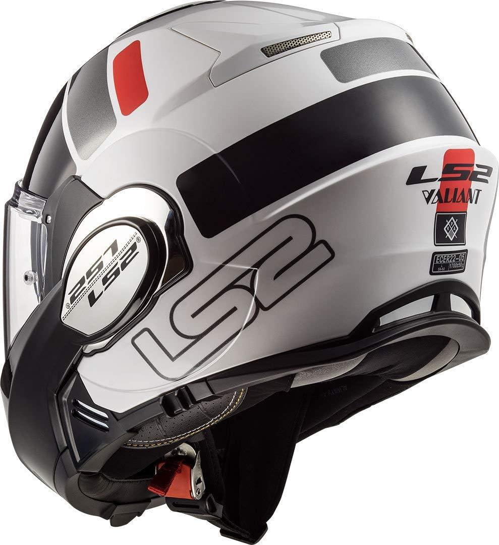 L Motorcycle helmets LS2 FF399 VALIANT PROX MATT H-V Yellow Black Noir//Jaune
