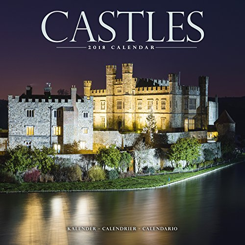 Castle Calendar - Calendars 2017 - 2018 Wall Calendars - Photo Calendar - Castles 16 Month Wall Calendar by Avonside