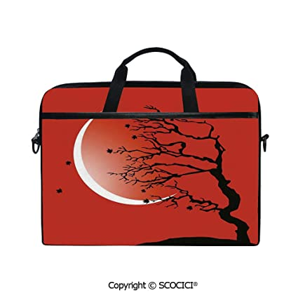 37f8964b0e88 Amazon.com: Printed Waterproof Laptop Shoulder Messenger Bag Case ...