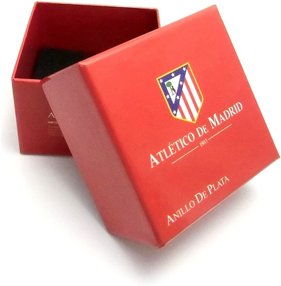 Pin escudo Atlético de Madrid Plata de ley esmaltado [7054 ...