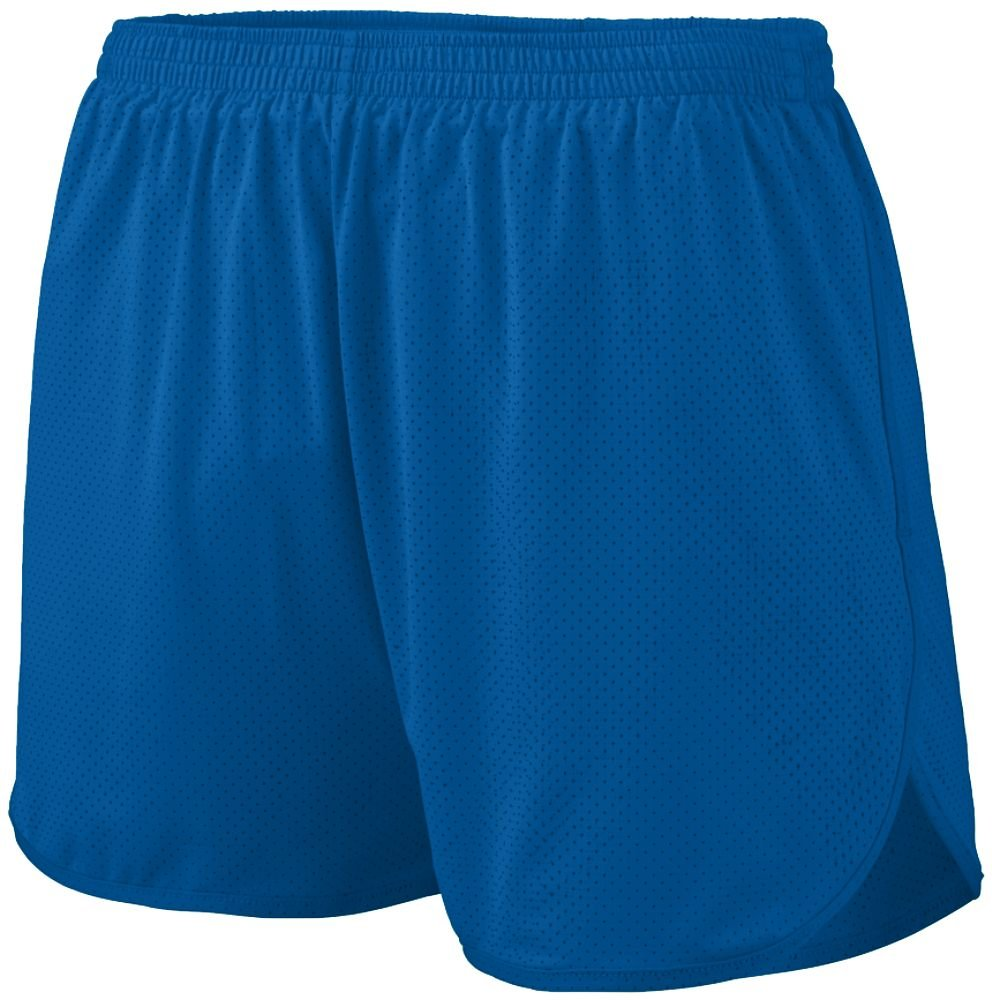 Augusta Sportswear Boys' Solid Split Short M Royal by Augusta Sportswear