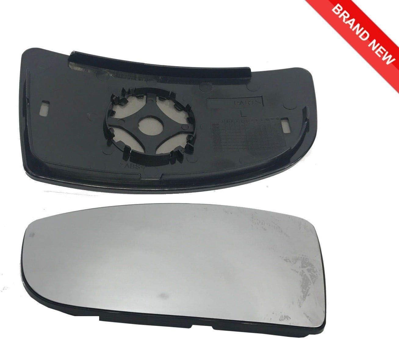 Transit Teile Transit Mk8 Unten T/ürfl/ügel Spiegelglas ab 2014 Beifahrer Links Montageplatte