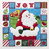 Bucilla 86883 Merry Moments Advent Calendar Kit, 15.5'', Multicolor
