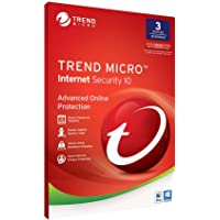 Trend Micro Maximum Security 2018 3 YEAR 1 USER