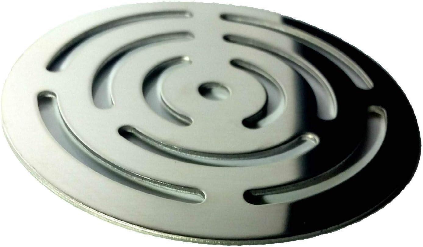 Rejilla redonda de 11,5 cm en acero inoxidable para platos de ...