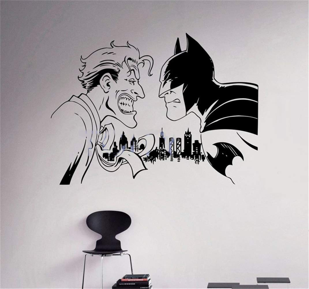 pegatina de pared etiqueta de la pared Batman Sticker Decal Wall ...