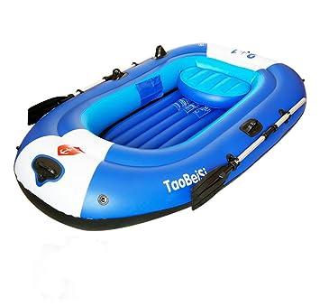 Pota - Set bote hinchable con remos de aluminio y bomba de ...