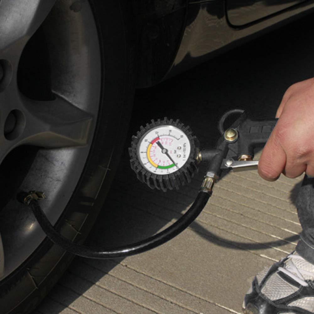 0-16 Bar Digital Tire Inflator with Pressure Gauge Auto Vehicle Car Tyre Tire Pressure Gauge Tester Diagnostic Tool 0-220PSI