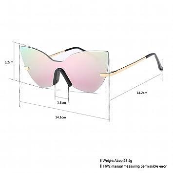 Mode Sonnenbrille Retro Sonnenbrille , Barbie Rosa / Gold