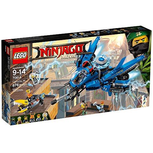 61bEJK9PJ8L - LEGO Ninjago Movie Lightning Jet 70614 Building Kit (876 Piece)