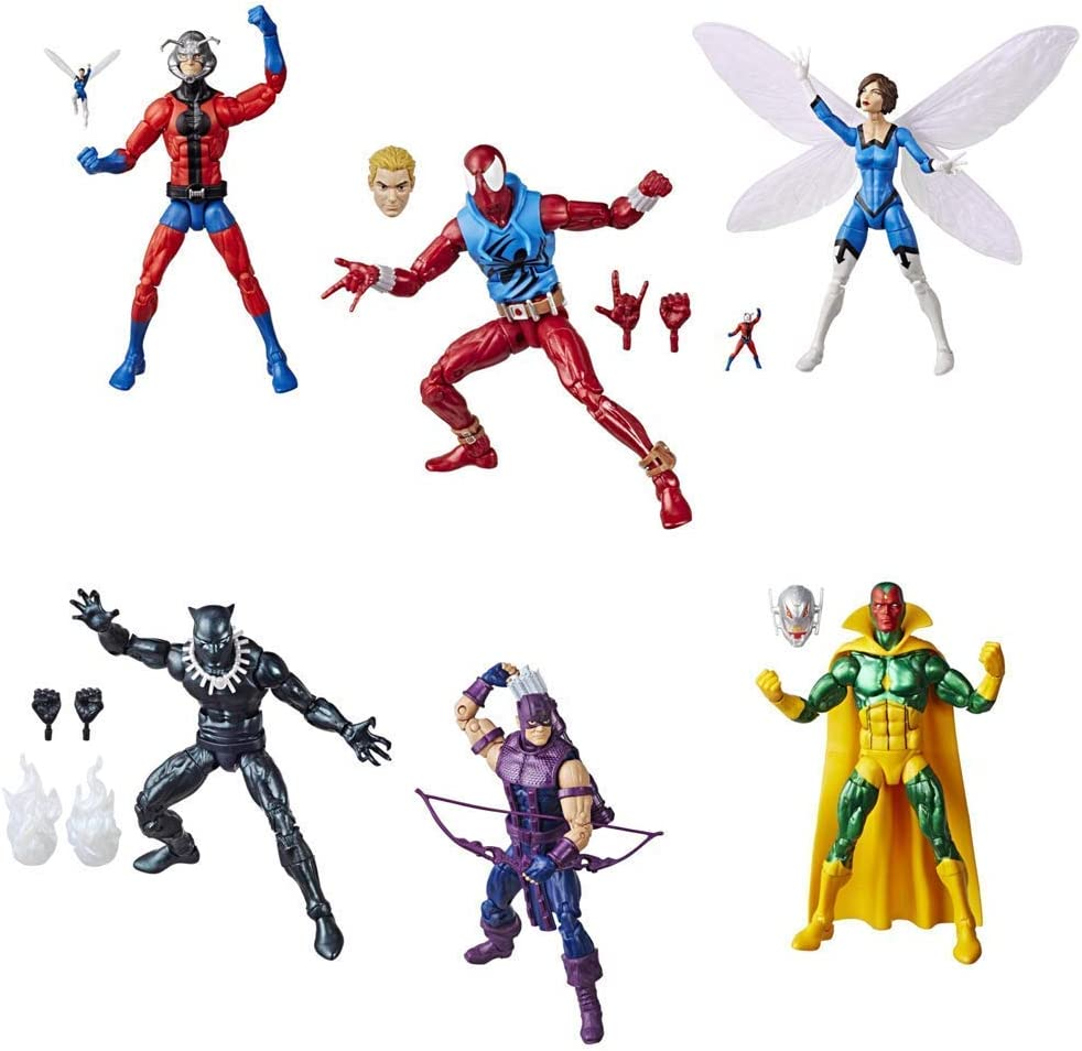 Marvel Legends Super Heroes Vintage 6-Inch Figures Wave 1