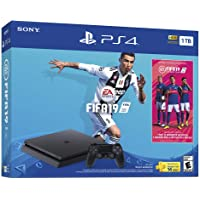 Consola PlayStation 4 Slim 1TB con juego FIFA19 - Bundle Edition