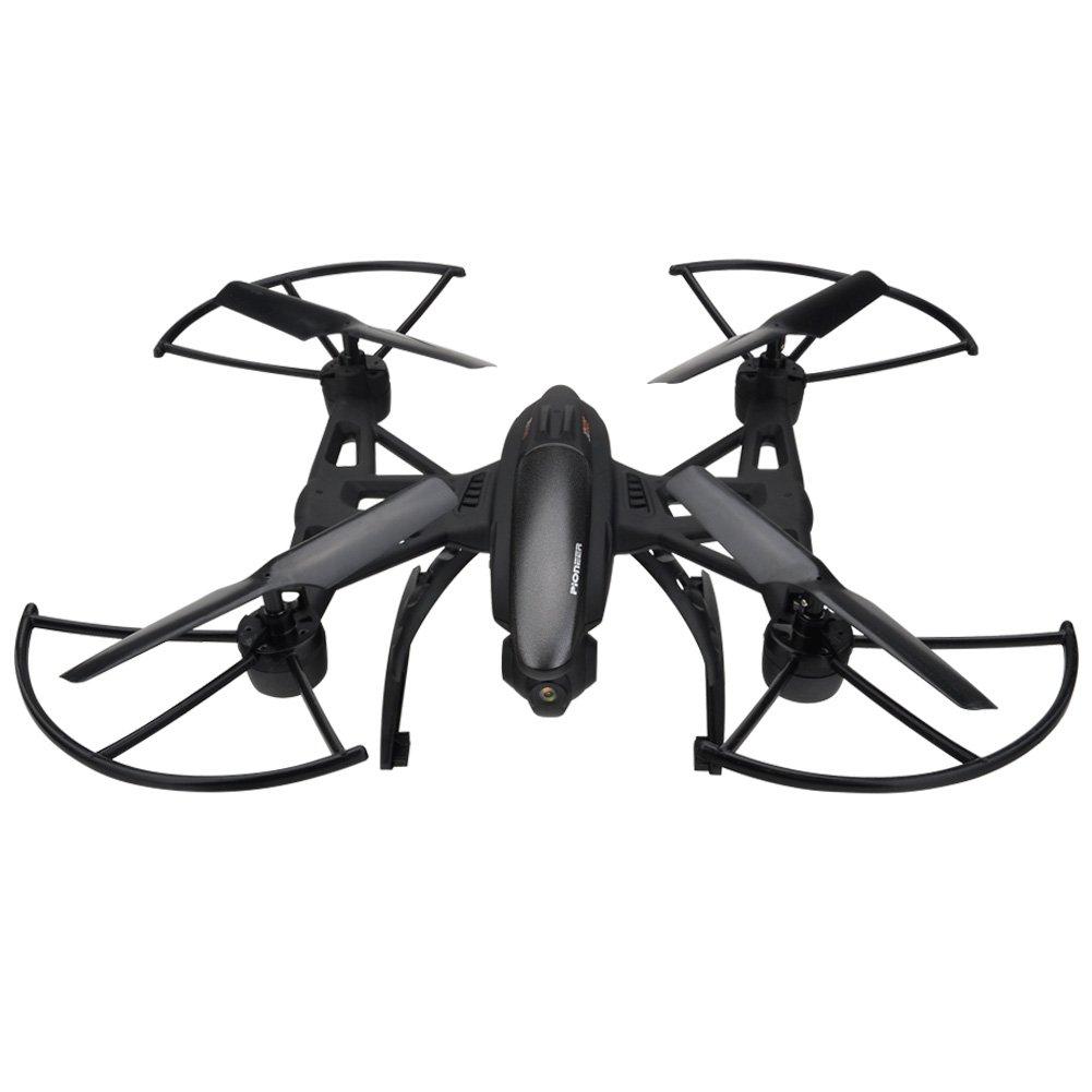 JXD 509W ferngesteuerter Quadrocopter mit Kamera 0.3MP HD Wifi FPV 4CH 2.4GHz 6-Achsen-Gyro Smartphone und Fernbedienung regelt eine Taste Starten/Landen/Zurückkehren live Übertragung